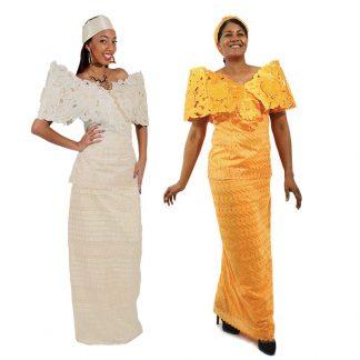 Women's African Wedding Attire